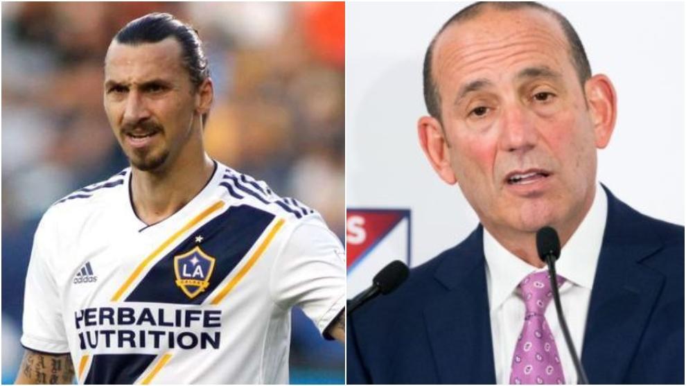 Comisionado de la MLS: «Ibrahimovic tiene 38 años y ahora va a firmar por el Milan»