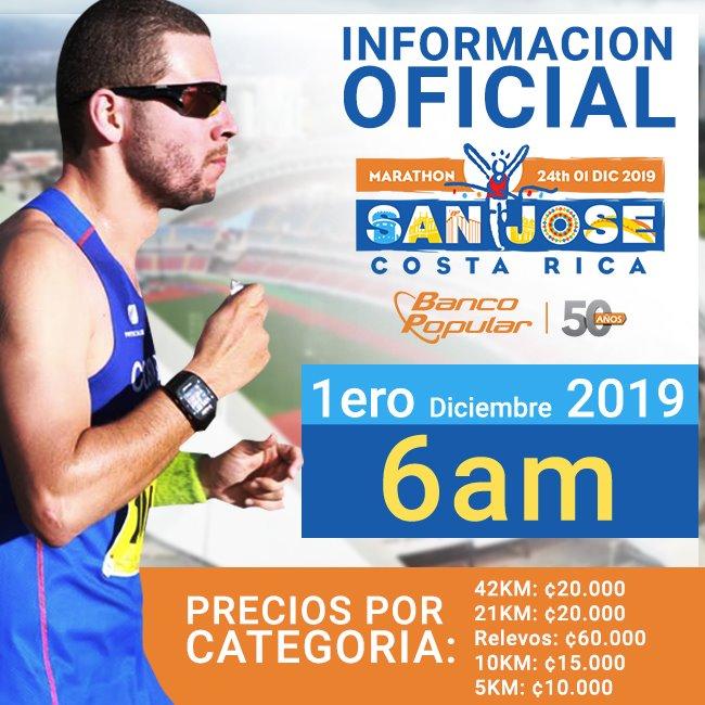 Diciembre arrancará con la Maratón San José.