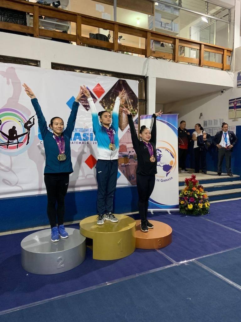 Costa Rica ganó 15 medallas en Centroamericano de Gimnasia 2019