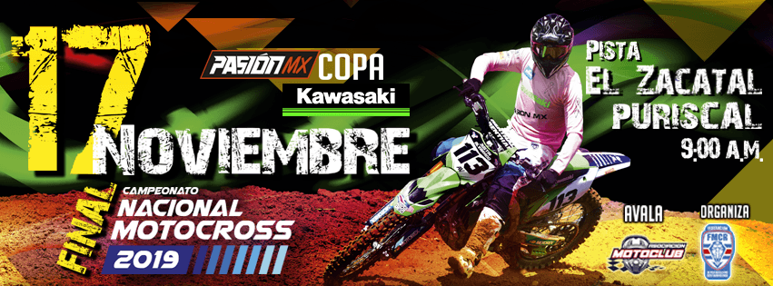 Este domingo caerá el telón del Campeonato Nacional de Motocross.