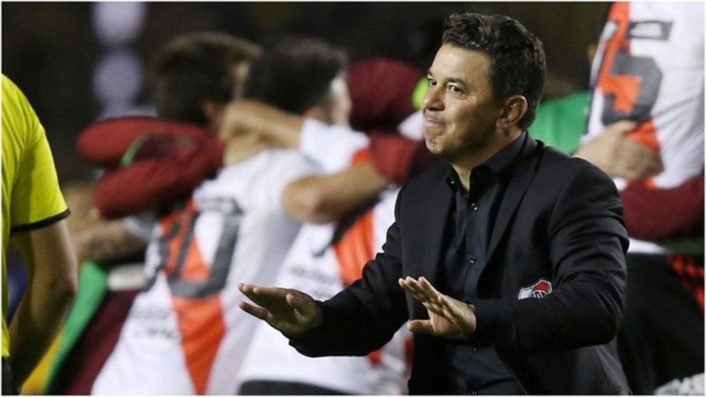 """Marcelo Gallardo: """"Hay mucha ansiedad sobre mi futuro y yo estoy bien""""."""