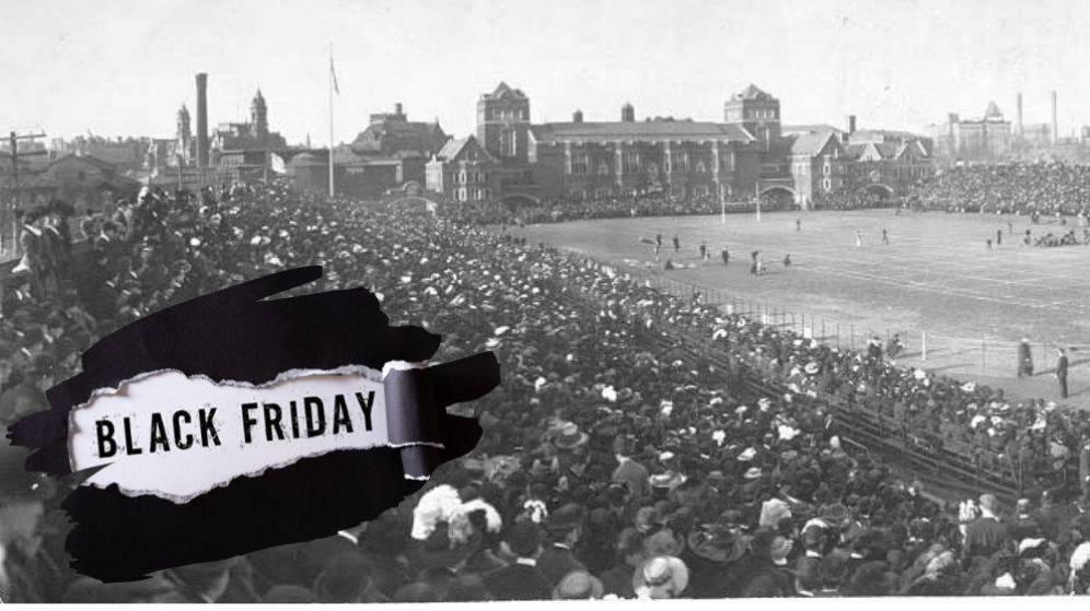 El Black Friday 'nació' del caos por un partido de fútbol entre soldados y marines