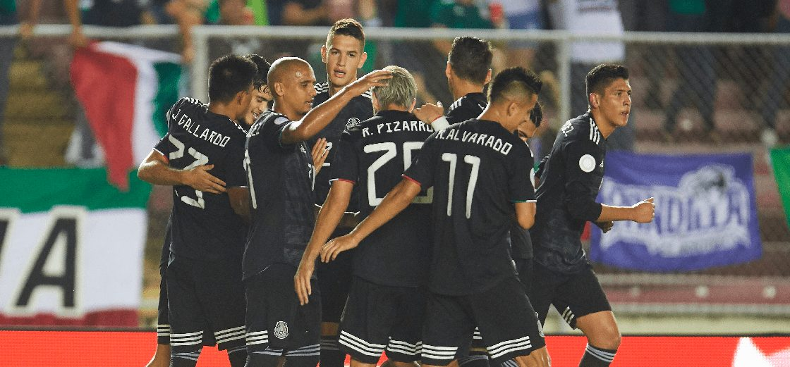 Panamá cayó goleado en casa ante México y se despide de la hexagonal final de la CONCACAF.