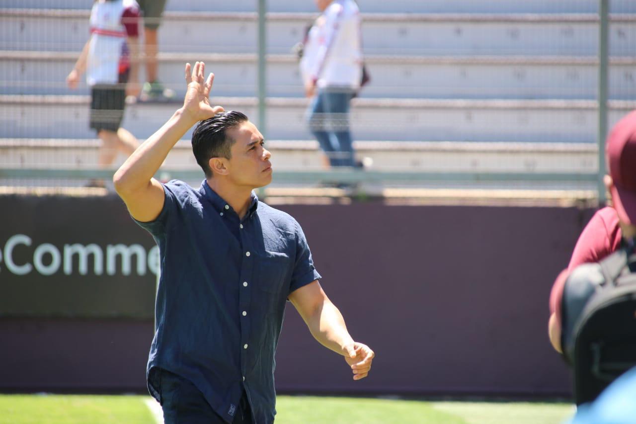 """Walter Centeno: """"He visto equipos que han salido  campeones con 0 a 0 y nosotros tenemos la ventaja de un gol""""."""