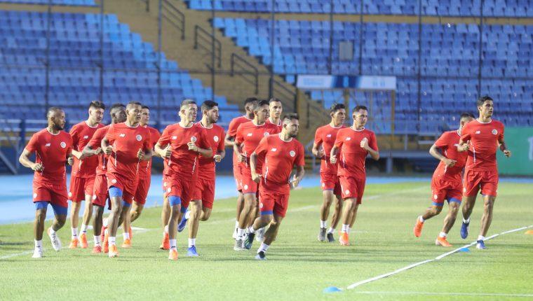 Selección Sub 23 realiza microciclo de tres días con miras al preolímpico de la CONCACAF.