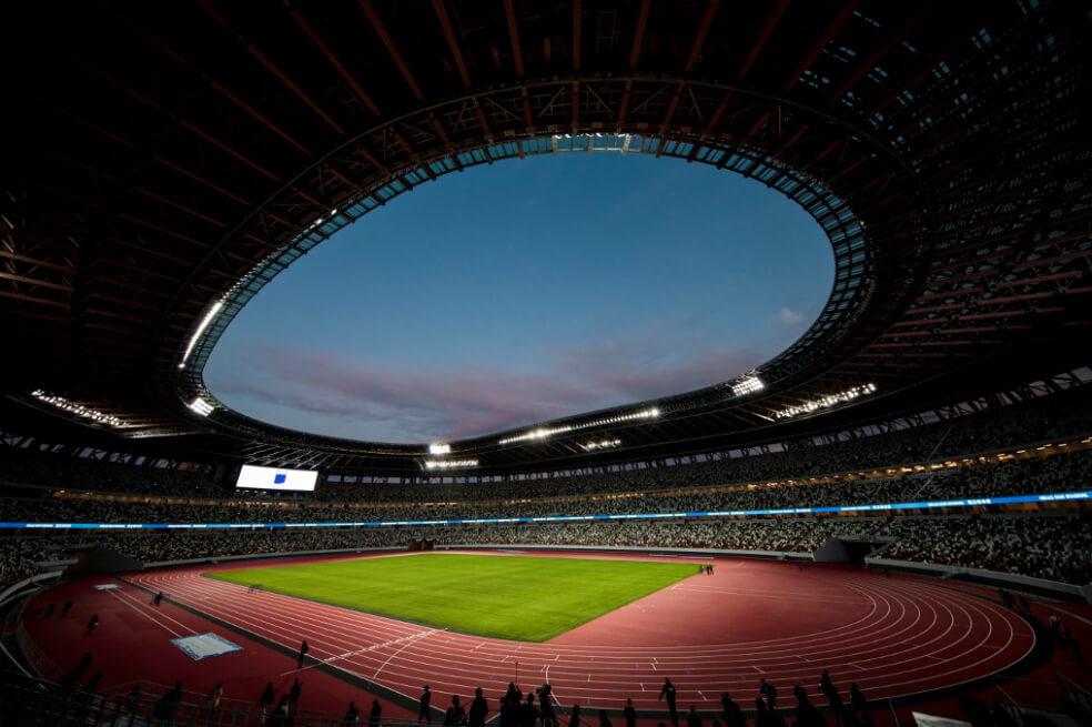 Se inaugura el nuevo estadio olímpico de Tokio.