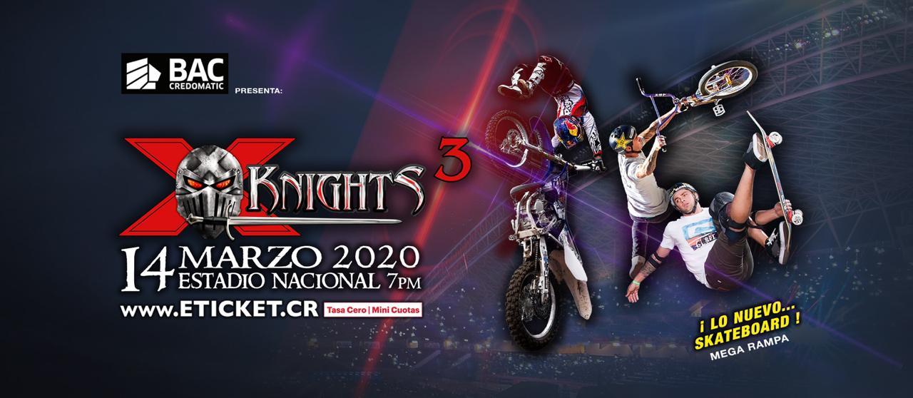 Los X-KNHIGTS 2020 serán el 14 de marzo.