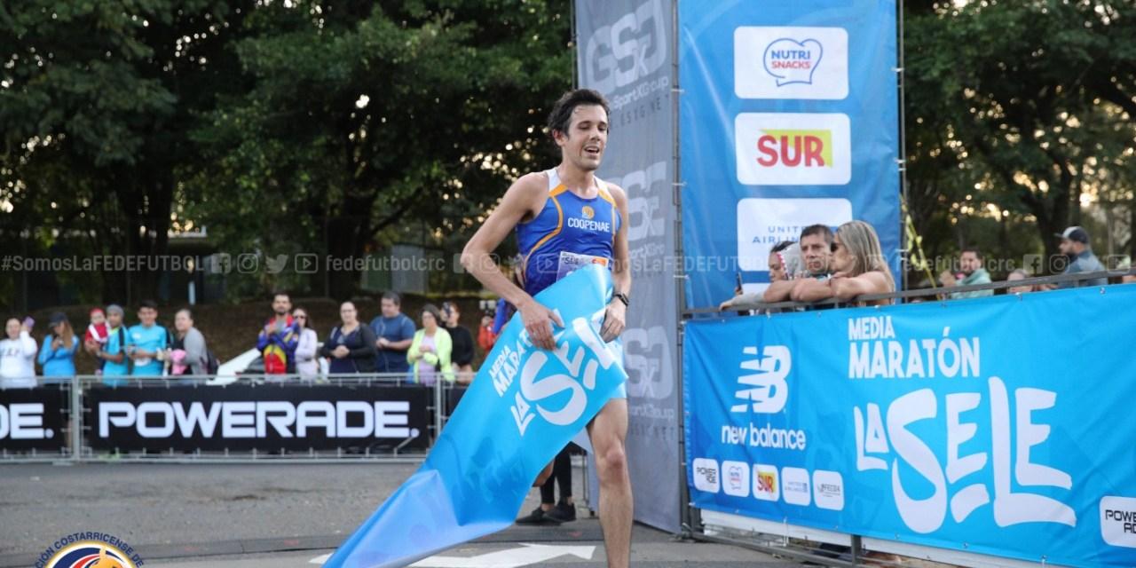 Cuarta edición de la Media Maratón La Sele fue un éxito.