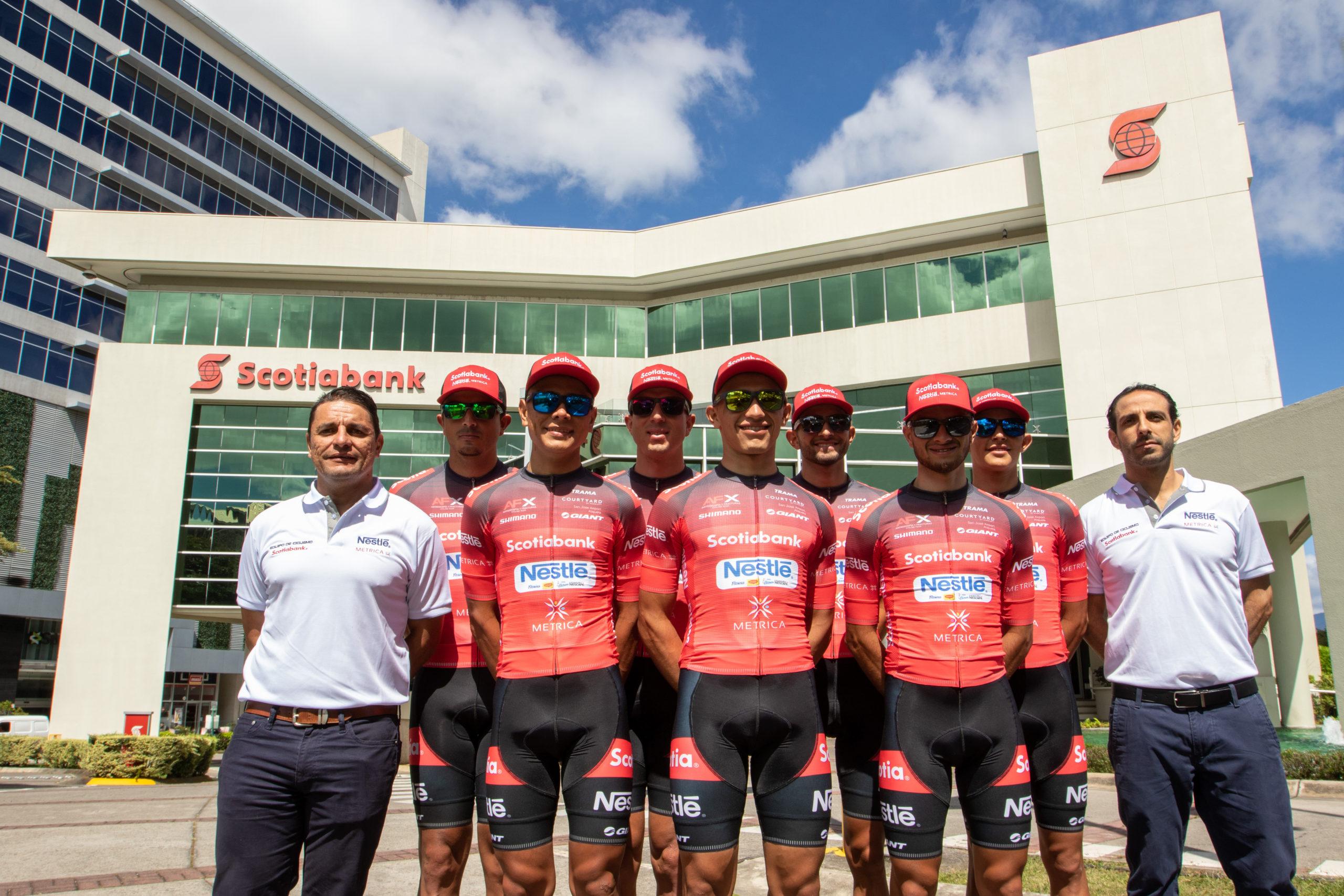 Scotiabank patrocinará al equipo campeón de la Vuelta a Costa Rica 2018.