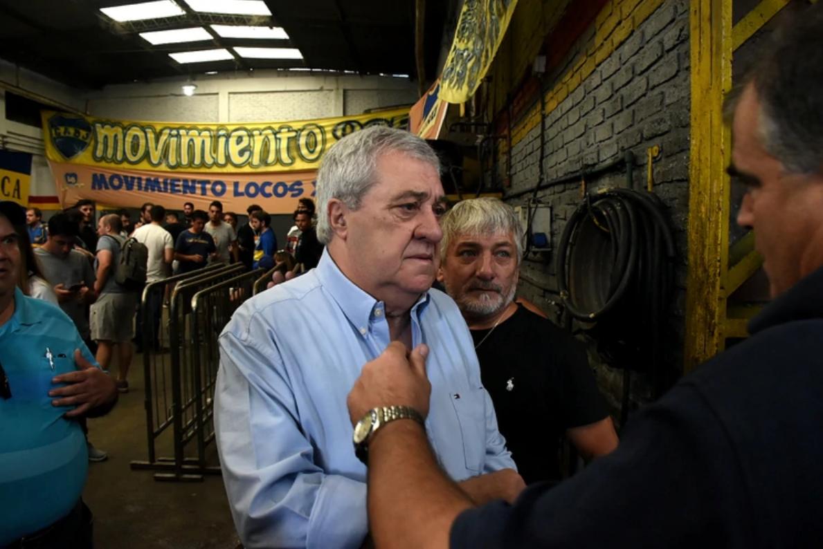 Jorge Amor Ameal ganó las elecciones y es el nuevo presidente de Boca Juniors.
