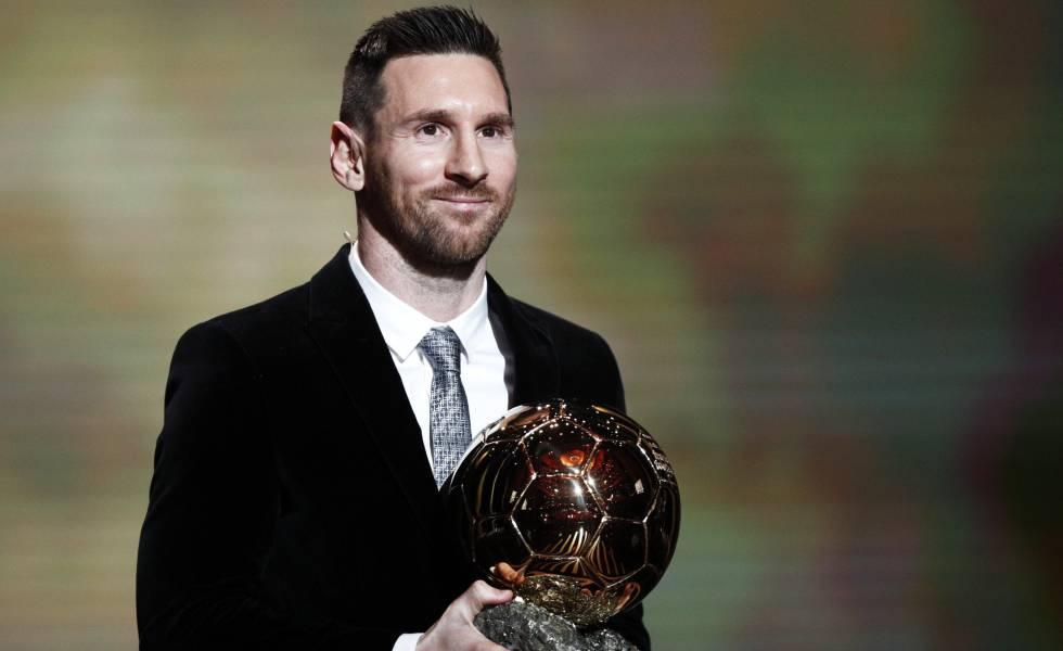 Lionel Messi ganó su sexto Balón de Oro y superó a Cristiano Ronaldo .
