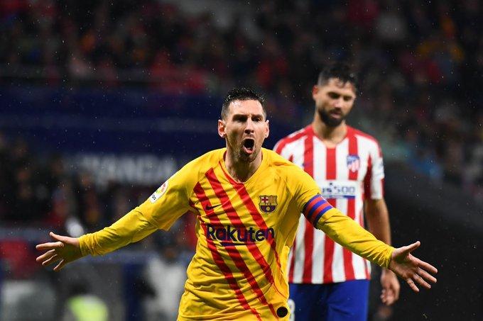 Barcelona derrotó a Atlético de Madrid con un golazo de Messi.