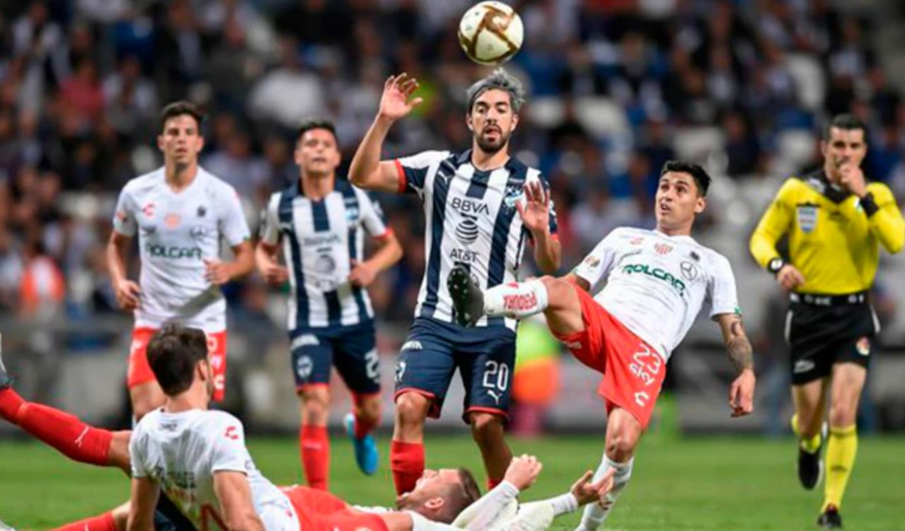 Monterrey derrotó 1-0 de visita a Necaxa y clasificó a la final de la Liga MX