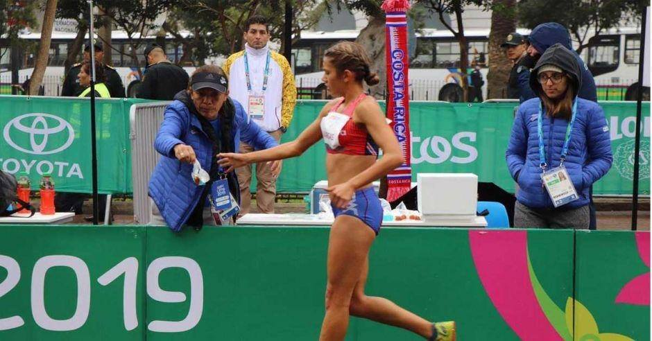 Noelia Vargas va por puntos al Campeonato Nacional de Marcha.