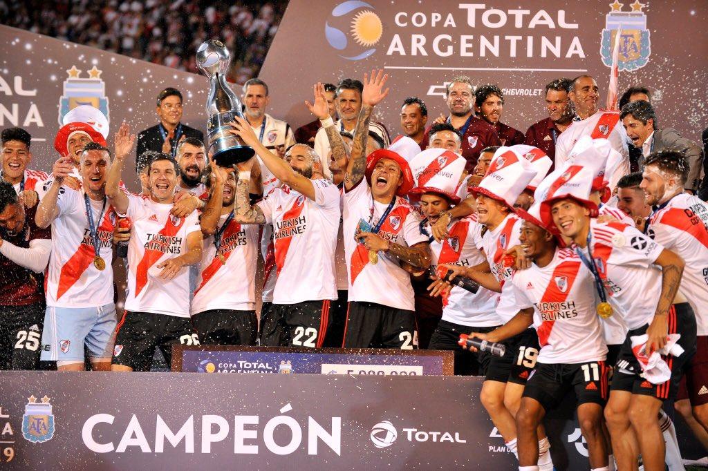 River se consagra campeón de la Copa Argentina con goleada ante Central Córdoba