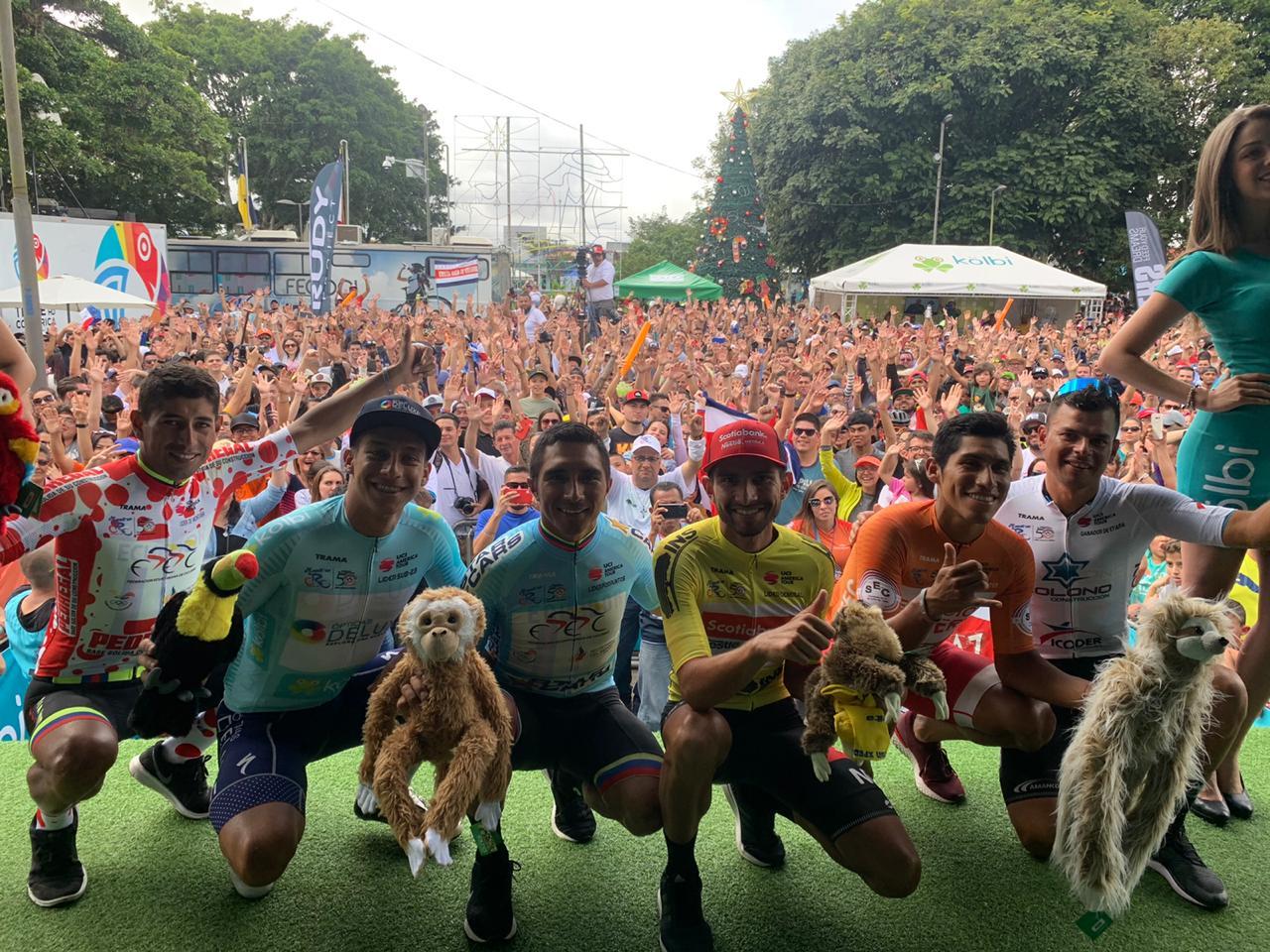 El paraiseño Daniel Bonilla se coronó campeón de la Vuelta Internacional a Costa Rica.