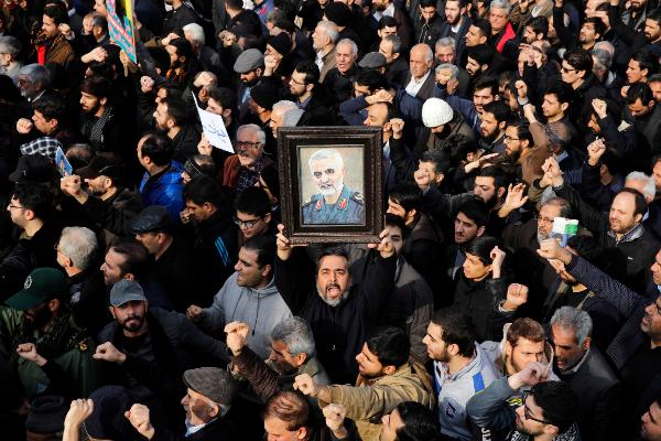 EEUU mata al general iraní Soleimani en un ataque con drones en el aeropuerto de Bagdad ordenado por Trump