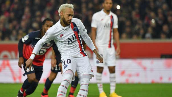 Con un doblete de Neymar, PSG venció 2-0 a Lille por la jornada 21 de la Ligue 1