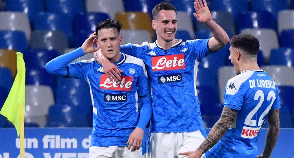 Napoli cortó una racha de 3 partidos sin ganar y derrotó a la Juventus.
