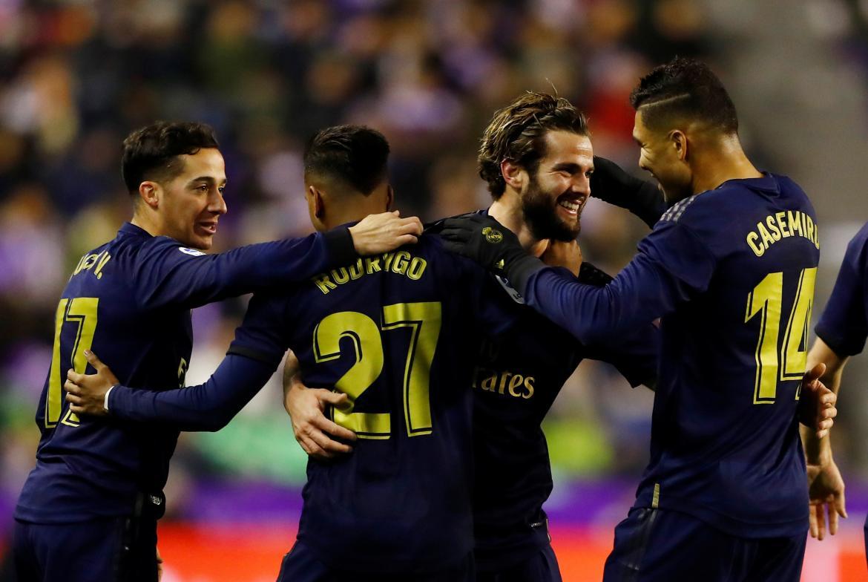 Real Madrid venció al Valladolid y asume en solitario el liderato de la Liga Española.