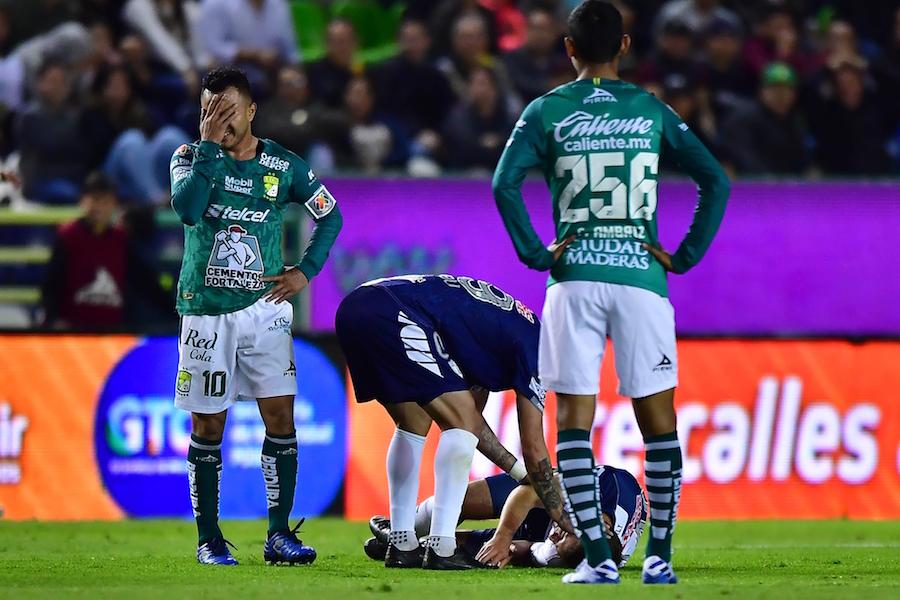 La escalofriante lesión que sufrió el joven Eugenio Pizzuto en su debut en la Liga MX. (VIDEO)