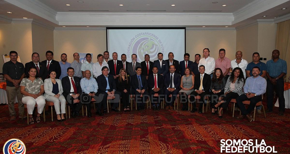 Fedefútbol y el ICD firman convenio para la implementación de un modelo con medidas preventivas contra el lavado de dinero.