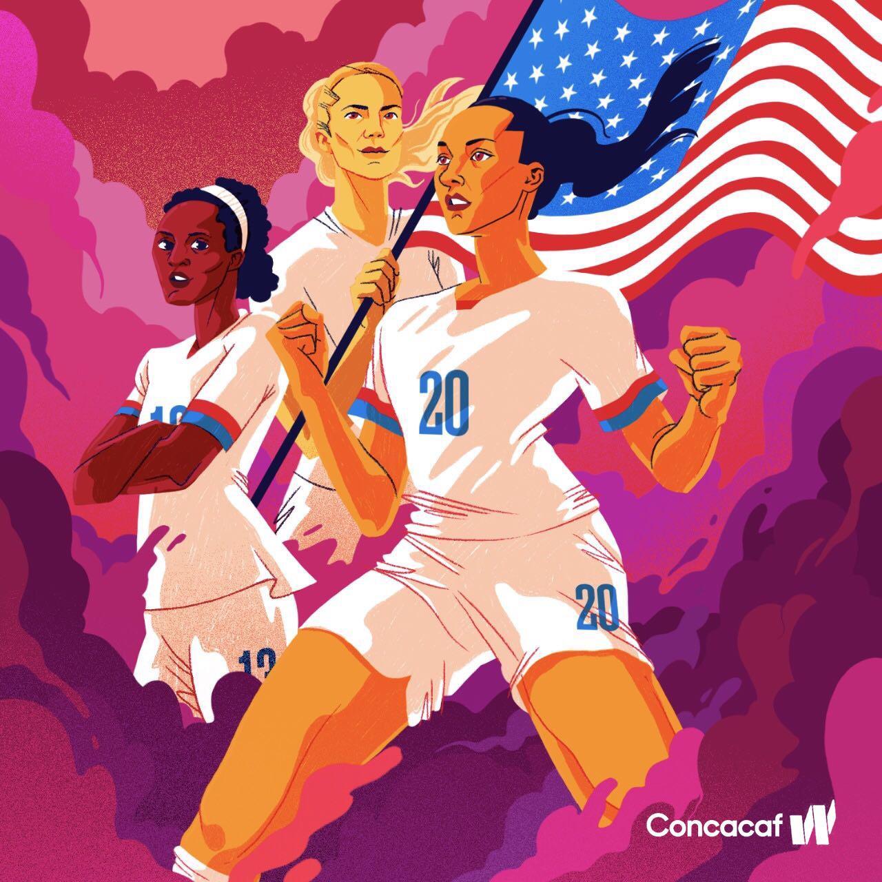 Selección Femenina de Estados Unidos ganó el Preolímpico de la CONCACAF sin despeinarse.