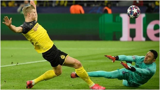 Borussia Dortmund dio el primer golpe y derrotó 2-1 al PSG por Champions League.