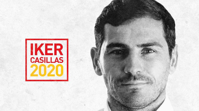 Iker Casillas confirma que será candidato a la presidencia de la Federación Española de Fútbol.