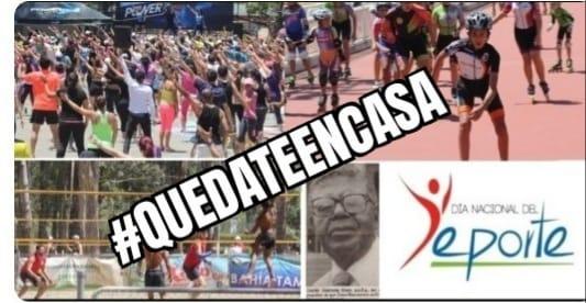 Hoy domingo se celebra el Día Nacional del Deporte.