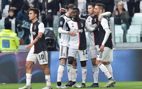 Jugadores de la Juventus aceptaron una rebaja en el sueldo.