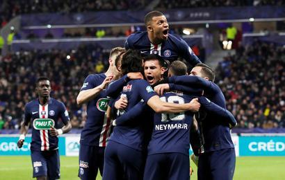 PSG se clasifica a la final de Copa de Francia.