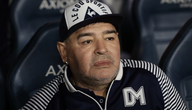 El plan de Maradona para ayudar a los jugadores argentinos que no han podido cobrar su salario.