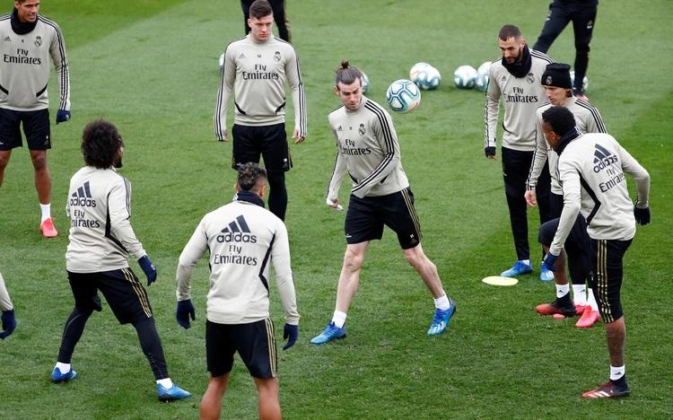 Real Madrid enfrenta sólido, de momento, la crisis del coronavirus.