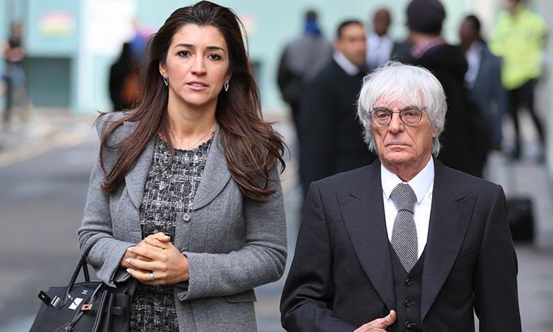 Exdirector ejecutivo de la Fórmula 1 será padre de nuevo a sus 89 años.