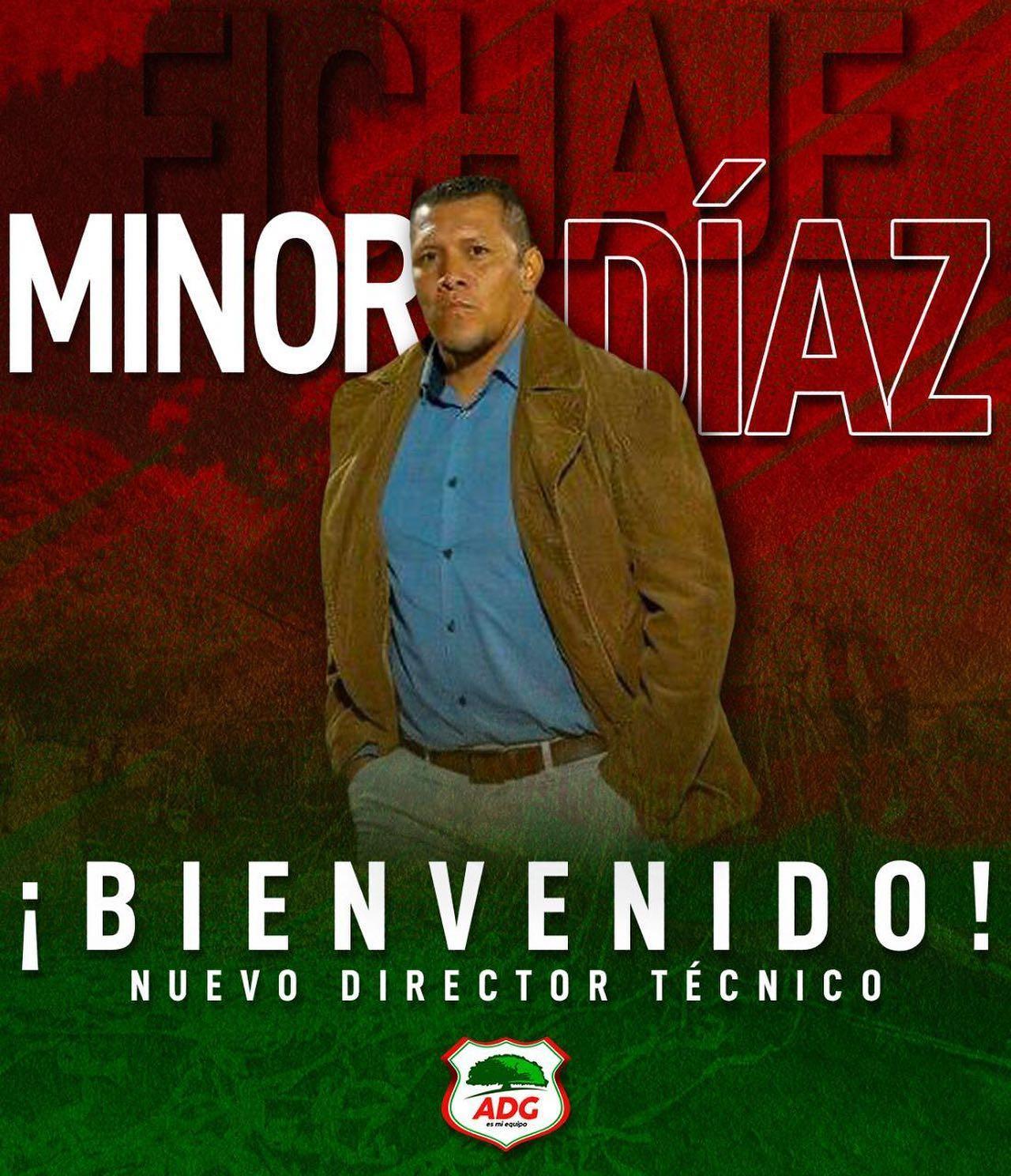 La ADG anuncia a Minor Díaz como su nuevo técnico e incorpora sus primeros refuerzos.