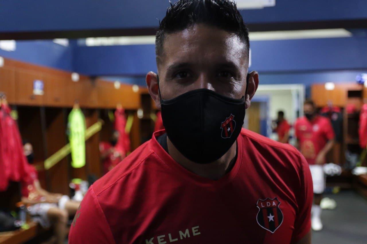 """Leonel Moreira: """"No soy el de siempre, pero sí sé que puedo dar más… Me gusta que me exijan el nivel que estoy acostumbrado a dar""""."""