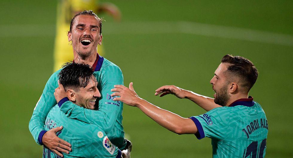 """FC Barcelona goleó al Villarreal y """"reza"""" por un tropiezo del Real Madrid."""