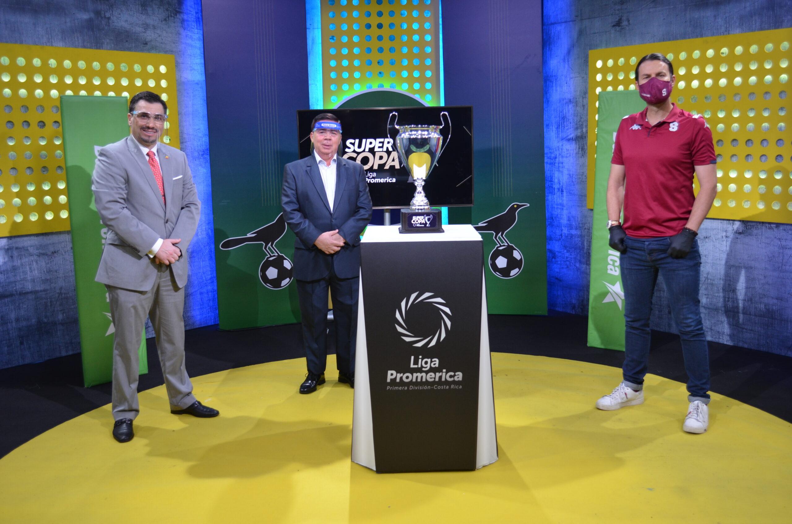 Campeones Saprissa y Herediano se medirán en la Supercopa Liga Promerica.