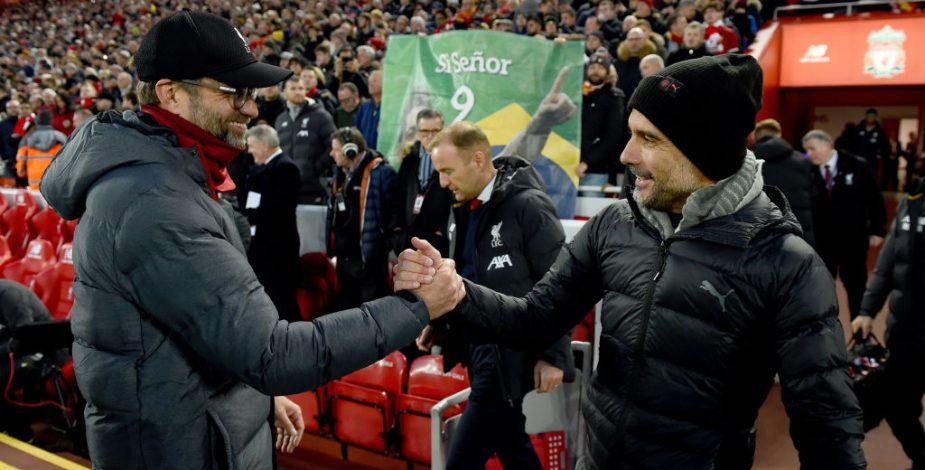 """Jürgen Klopp sobre Pep Guardiola: """"Es un tipo excepcional, sabe aceptar las derrotas cuando pierde"""""""