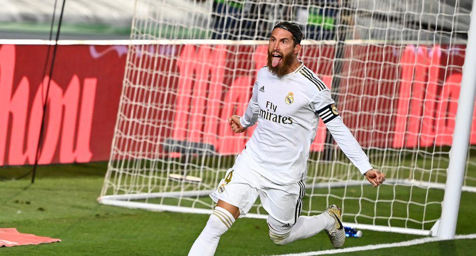 Real Madrid derrota al Getafe y se distancia a 4 puntos del Barcelona en la recta final de LaLiga.