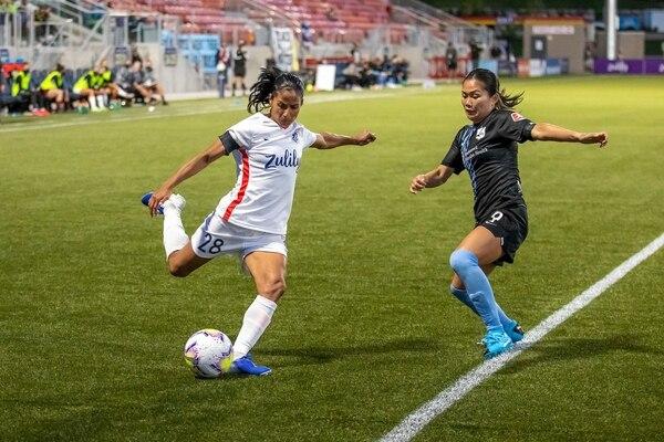 Equipo de Shirley Cruz quedó eliminado de la NWSL Challenge Cup.