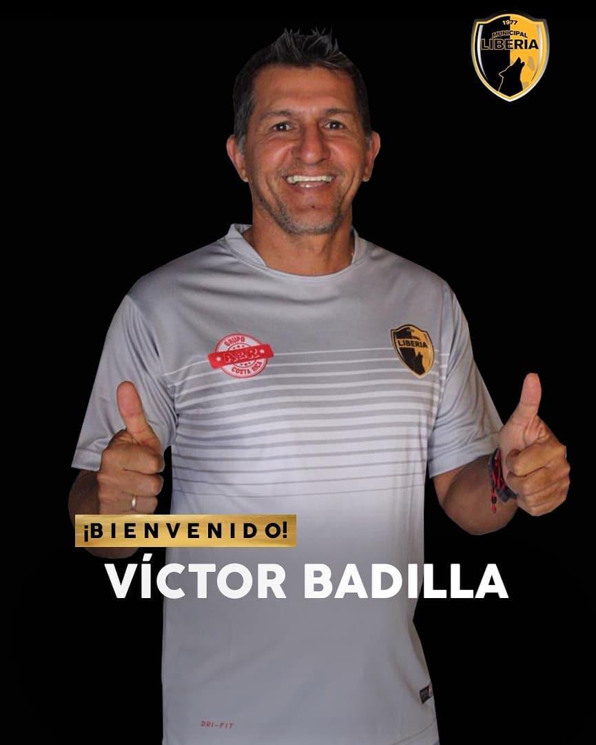 Víctor Badilla es nuevo asistente técnico en el Municipal Liberia.