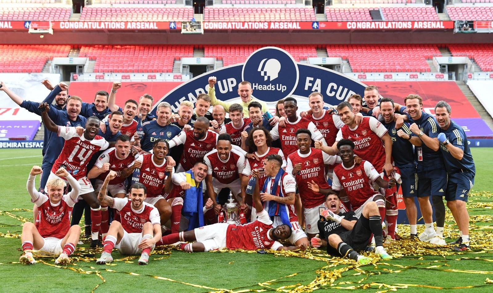 Arsenal le remontó al Chelsea y se dejó la FA Cup 2020.