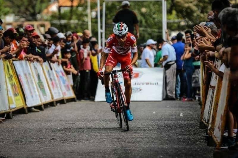 ¡Por fin! Ciclista Kevin Rivera podrá viajar a España este sábado 15 de agosto.