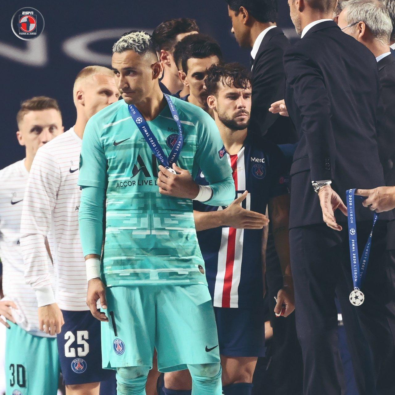 Terminó el 'romance' entre Keylor Navas y la Champions League.
