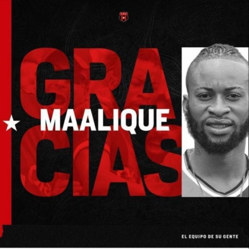 Alajuelense y Maalique Foster llegaron a un acuerdo para finiquitar su contrato.