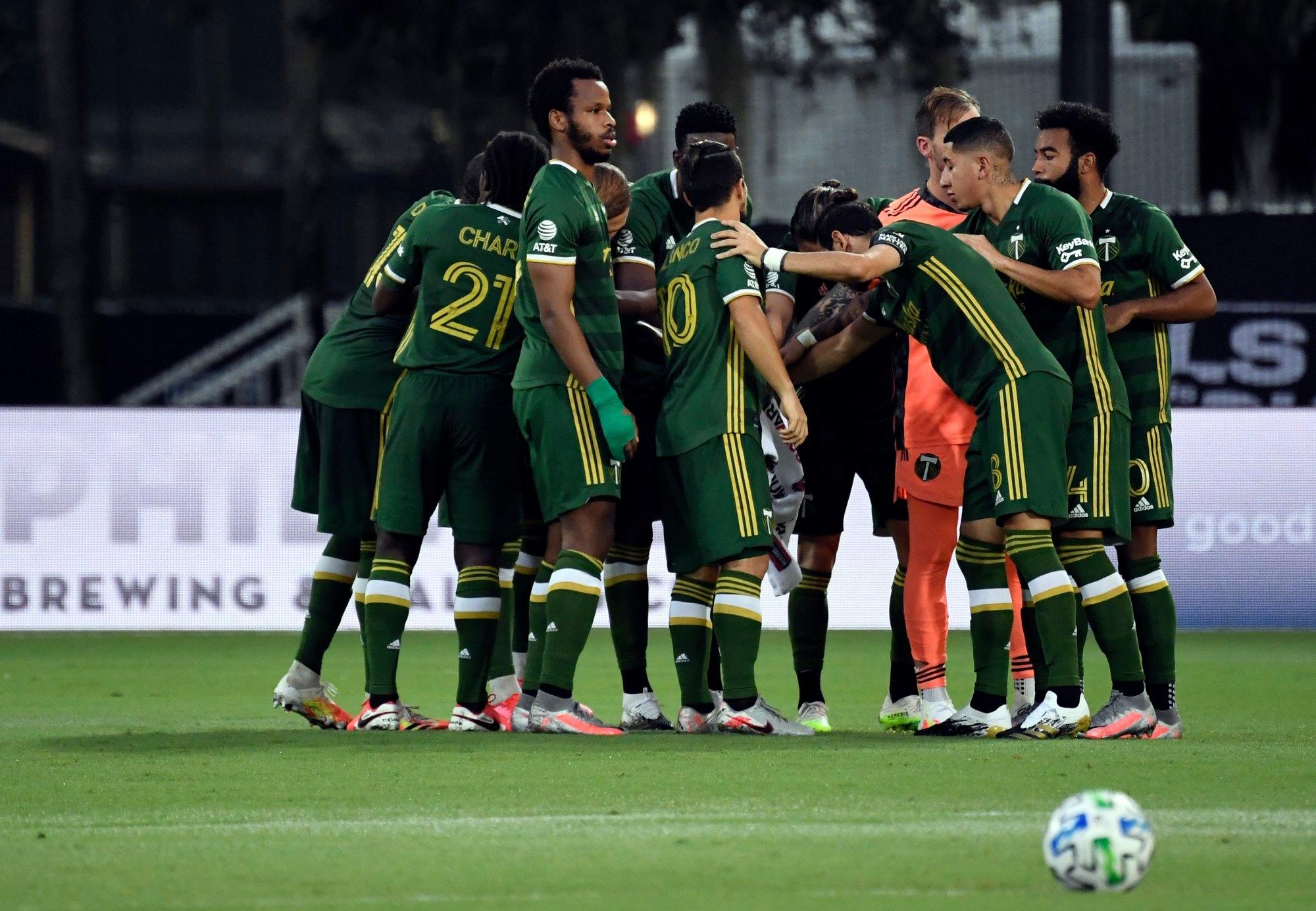"""Portland Timbers de Marvin Loría y Julio Cascante clasifica a la gran final de la """"MLS is Back""""."""