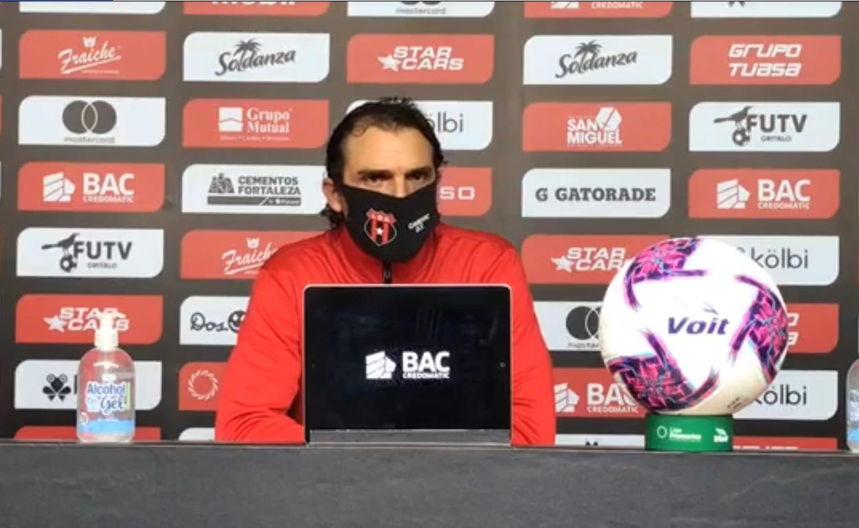 "Andrés Carevic: ""Venimos de menos a más""."