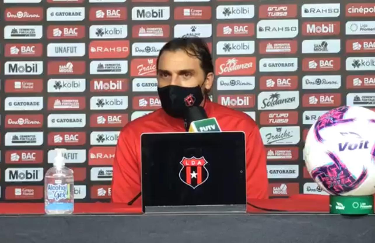 """Andrés Carevic: """"Estoy contento por haber ganado este segundo partido y por tener el liderato de nuestro grupo""""."""